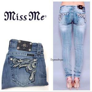 Miss Me Skinny Tulip Denim Jeans JP5614S